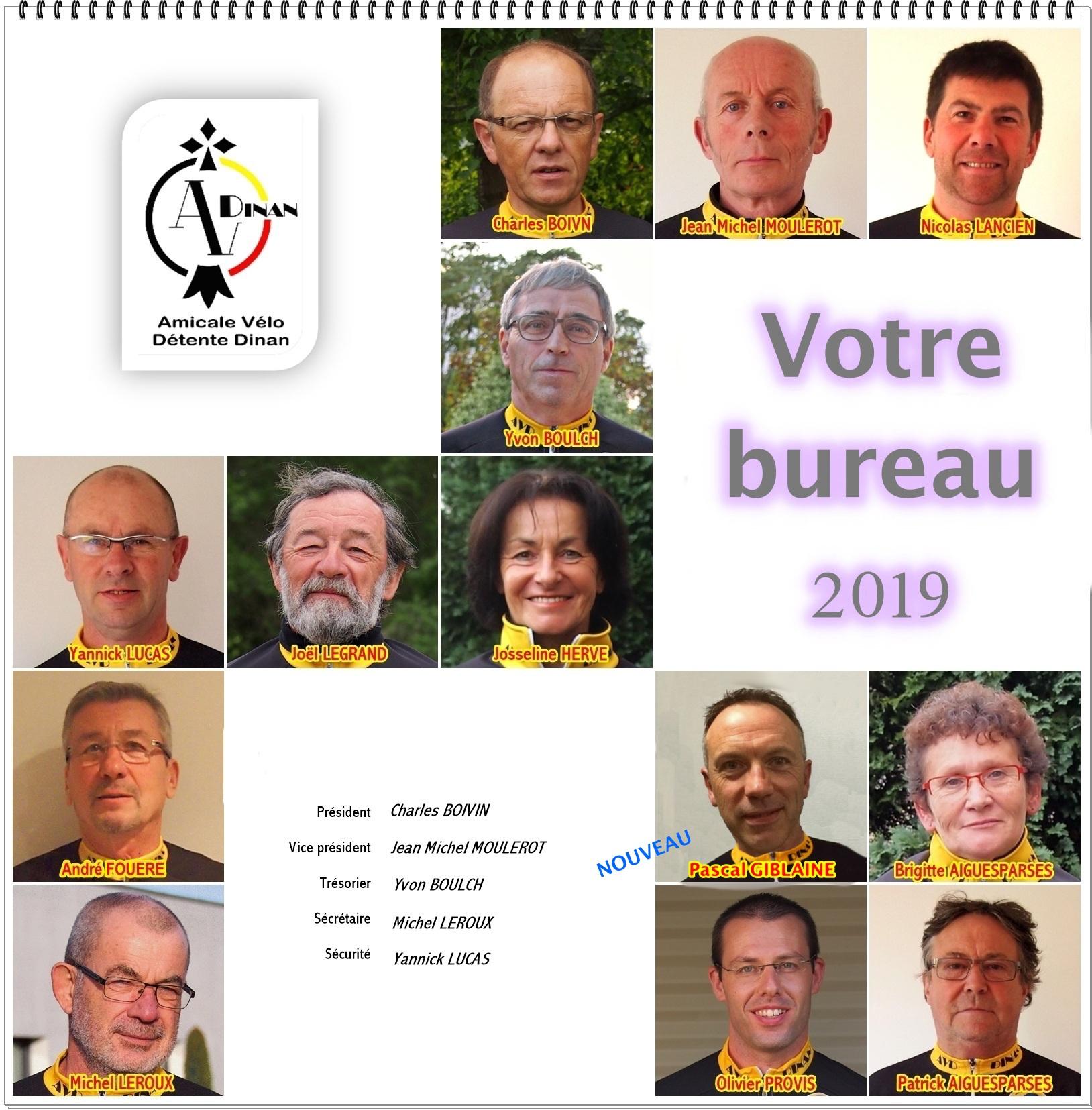 000d993228534 Composition du Bureau - club Cyclotourisme Amicale Vélo Détente ...